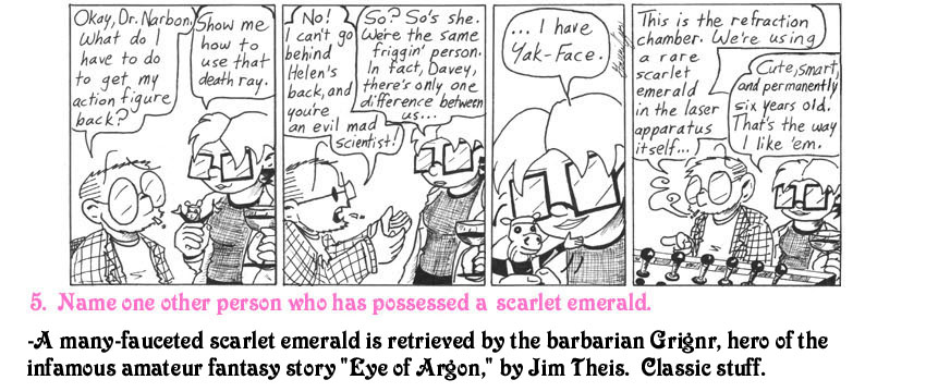 This strip is dedicated to Sarah Stewart.